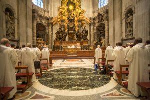 Messe dans la basilique de Saint-Pierre – 7 oct.