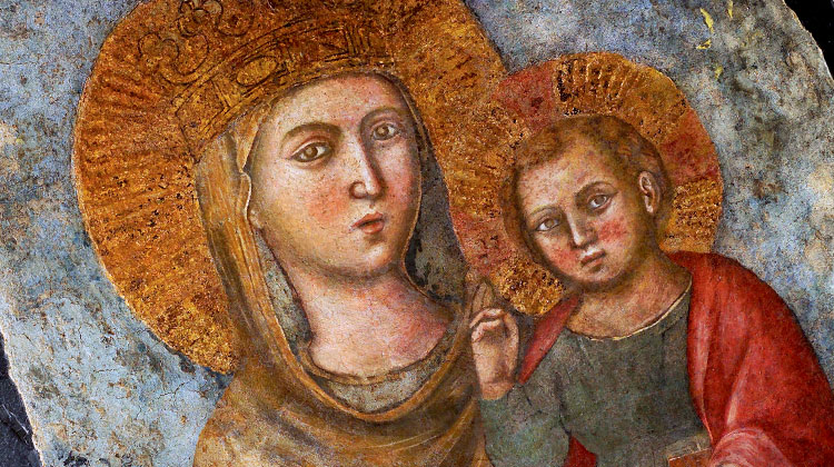 The Blessed Virgin Mary Mother of the Society of Jesus