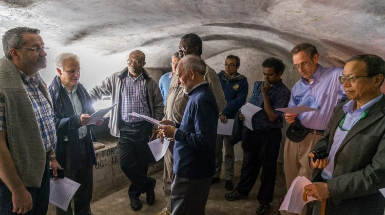 """Underground Jesuits!"" by Sylvain Cariou-Charton, SJ"