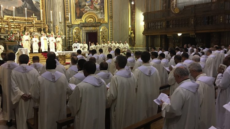 """GC36 Closing Mass: """"They went out and preached everywhere, the Lord working through them."""""""